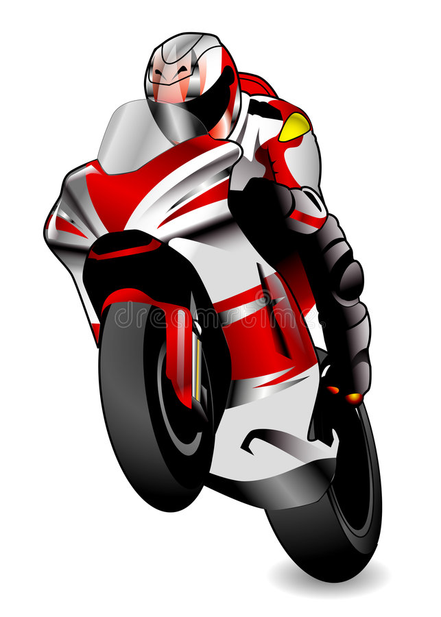 φυλή μοτοσικλετών ελεύθερη απεικόνιση δικαιώματος