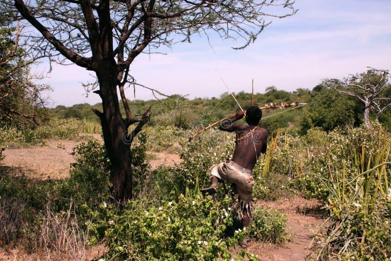 φυλή της Τανζανίας ατόμων τ&et στοκ εικόνες