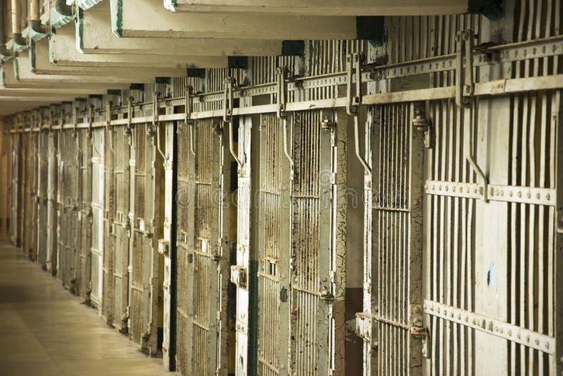 Φυλακή Alcatraz, φυλακή στοκ φωτογραφίες με δικαίωμα ελεύθερης χρήσης