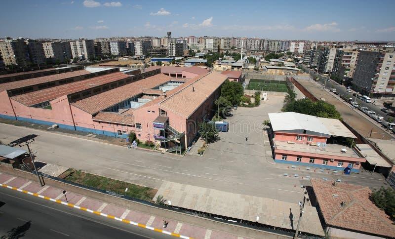 Φυλακή Bulding Diyarbakir στοκ εικόνα με δικαίωμα ελεύθερης χρήσης