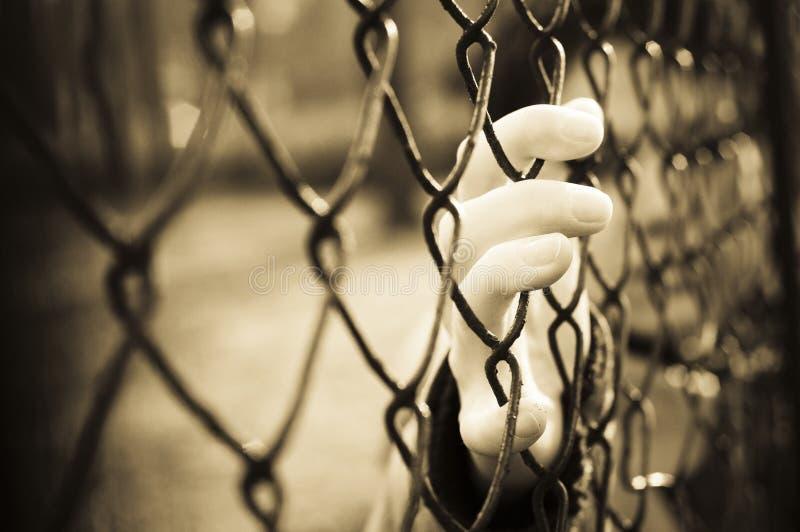 φυλακισμένος στοκ εικόνα