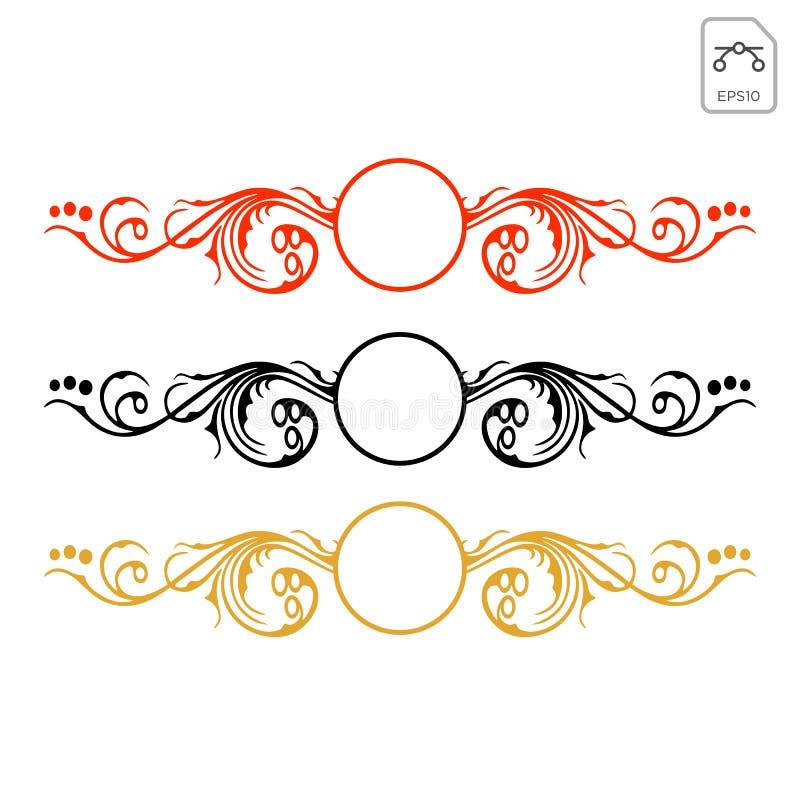 φυλετικό αφηρημένο περικάλυμμα decals για τη διανυσματική απεικόνιση οχημάτων διανυσματική απεικόνιση
