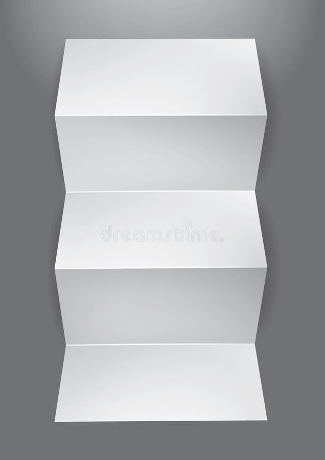φυλλάδιο διανυσματική απεικόνιση