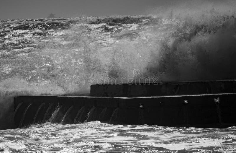 φυσικά κύματα σύστασης θάλασσας σχεδίου έργου τέχνης στοκ εικόνα με δικαίωμα ελεύθερης χρήσης