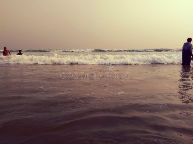 φυσικά κύματα σύστασης θάλασσας σχεδίου έργου τέχνης στοκ φωτογραφία με δικαίωμα ελεύθερης χρήσης