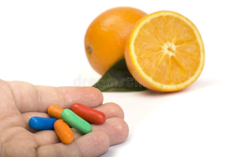 φυσικές βιταμίνες στοκ εικόνες