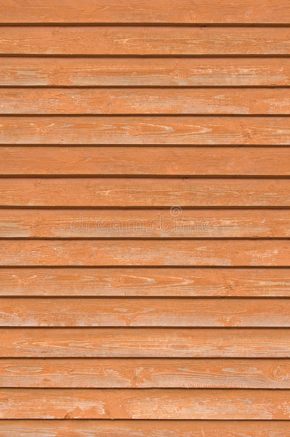 Φυσικές παλαιές ξύλινες σανίδες τοίχων φρακτών, ξύλινη στενή σύσταση πινάκων, κατακόρυφος που επικαλύπτουν την καφεκόκκινη τερακό στοκ εικόνες