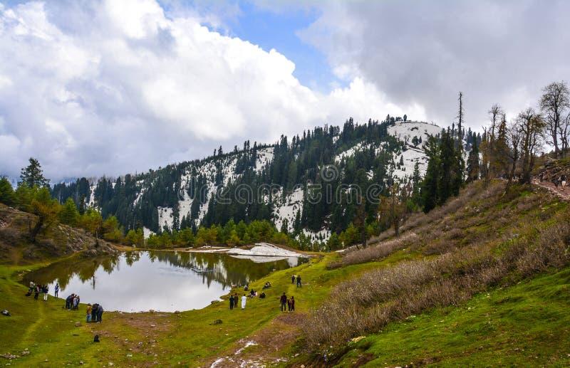 Φυσική άποψη του PAYE Siri στην κοιλάδα Kaghan, Πακιστάν στοκ εικόνες με δικαίωμα ελεύθερης χρήσης