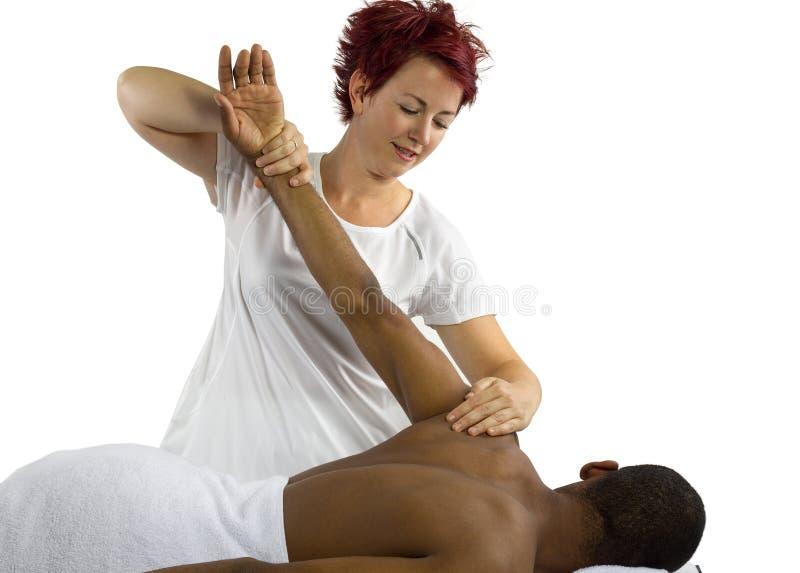 Φυσική θεραπεία στοκ φωτογραφία με δικαίωμα ελεύθερης χρήσης