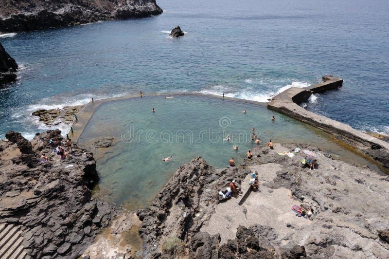 φυσική κολύμβηση βράχου &lamb στοκ εικόνα