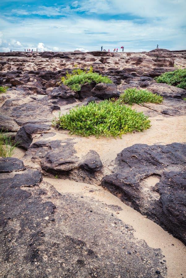 Φυσική πέτρα Sampanbok στοκ εικόνες