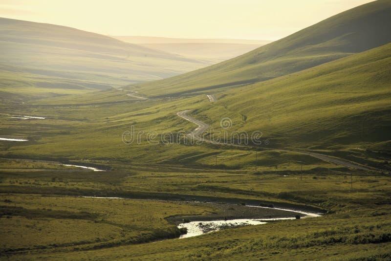 φυσική σημαντική κοιλάδα βουνών ορμής περιοχής β κάμβρια στοκ φωτογραφία με δικαίωμα ελεύθερης χρήσης