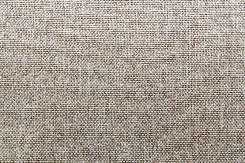 Φυσική σύσταση λινού υφάσματος για το σχέδιο, sackcloth κατασκευασμένο _ στοκ εικόνα