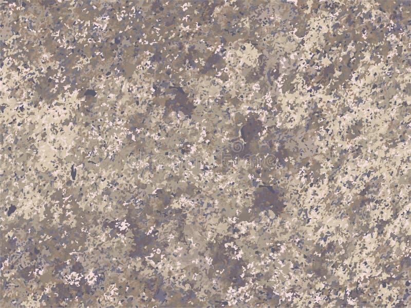 Φυσική σύσταση πετρών, μίμησης πέτρα, γρανίτης, βράχος διανυσματική απεικόνιση