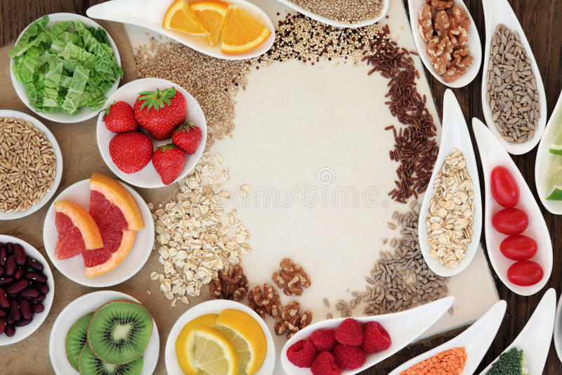 Φυσική υγιεινή διατροφή στοκ εικόνες
