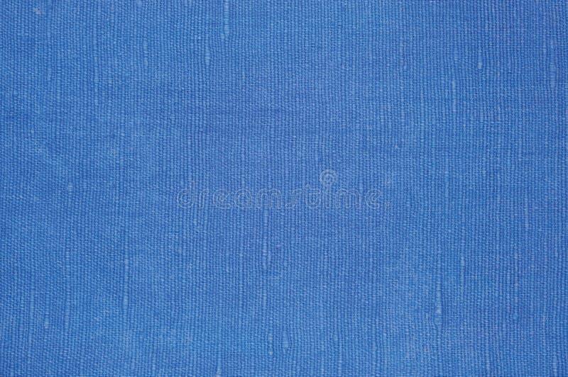 Φυσική φωτεινή μπλε λεπτομερής σύσταση μακρο κινηματογράφηση σε πρώτο πλάνο λινού ινών λιναριού, αγροτικό τσαλακωμένο εκλεκτής πο στοκ εικόνες με δικαίωμα ελεύθερης χρήσης