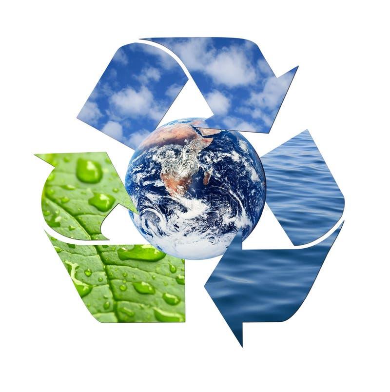 φυσικός ανακύκλωσης στοκ εικόνες