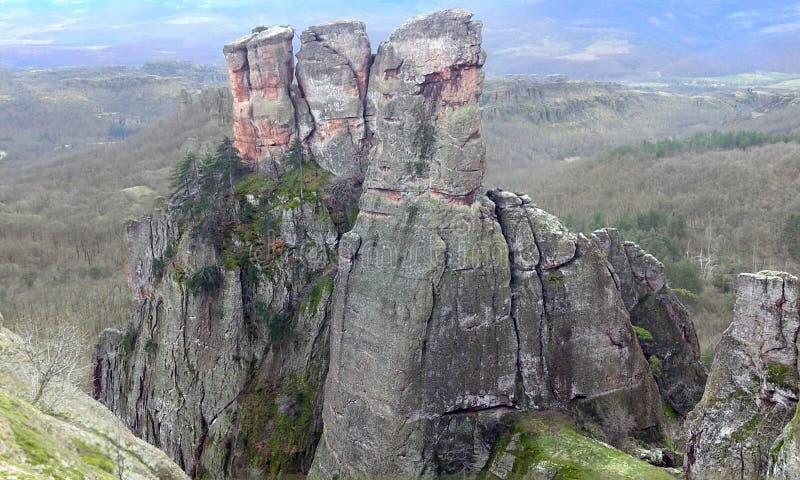 Φυσικός βράχος Ευρώπη Βουλγαρία στοκ εικόνα με δικαίωμα ελεύθερης χρήσης