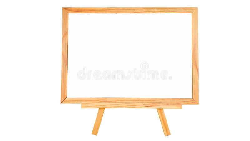 Φυσικός λευκός πίνακας ξύλου πεύκων στο άσπρο υπόβαθρο που απομονώνεται στοκ εικόνες με δικαίωμα ελεύθερης χρήσης