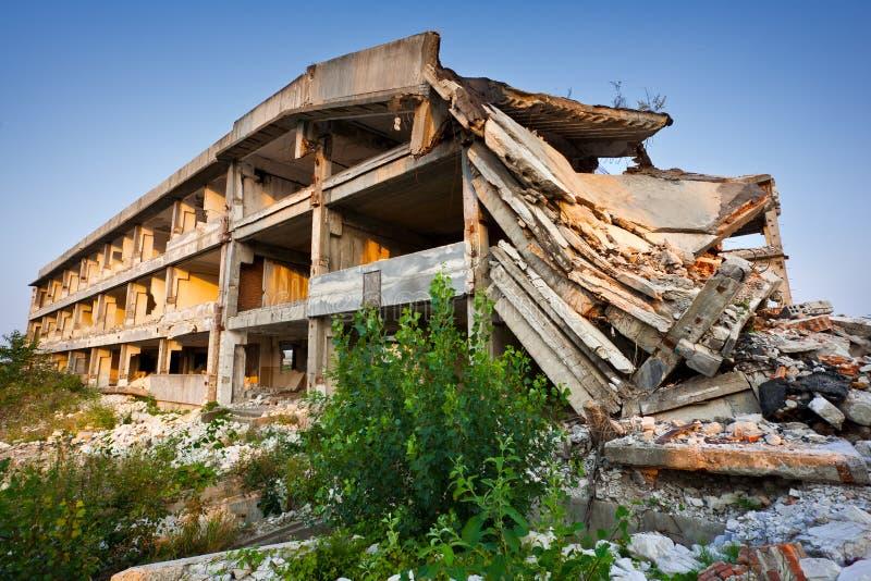 φυσικός καταστροφής κτη&r στοκ φωτογραφία με δικαίωμα ελεύθερης χρήσης