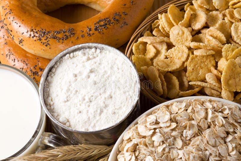 φυσικός νόστιμος τροφίμων στοκ εικόνες