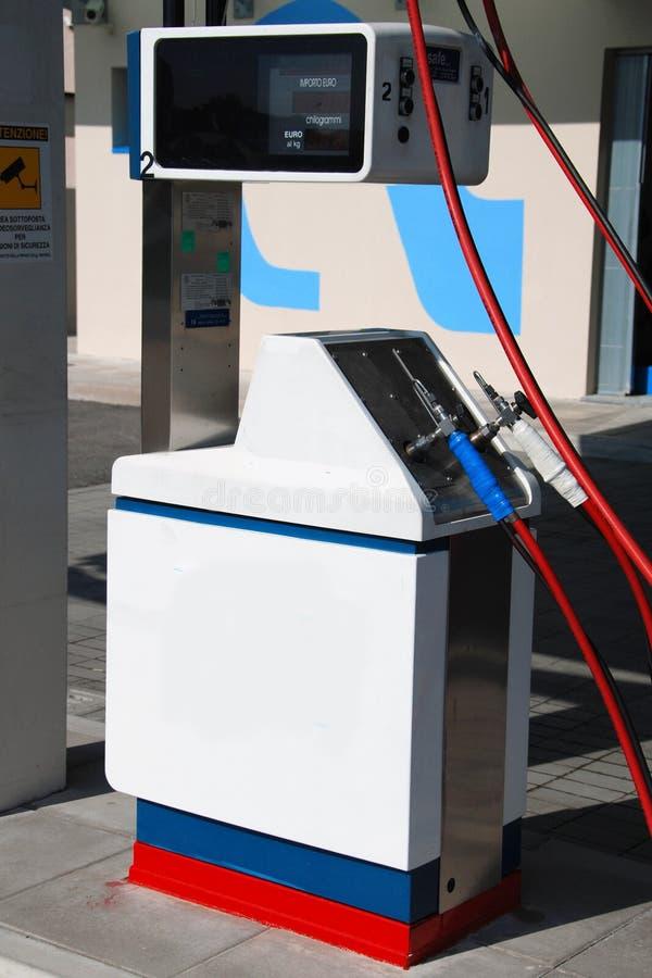 Φυσικό βενζινάδικο στοκ εικόνες με δικαίωμα ελεύθερης χρήσης