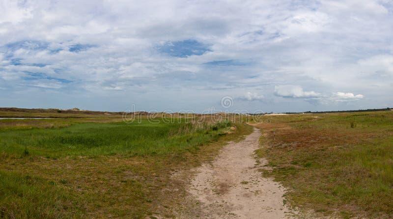 Φυσικό καταφύγιο του Πανόραμα, Zwin, Bruges, Sluis, Βέλγιο, Κάτω Χώρες στοκ φωτογραφίες με δικαίωμα ελεύθερης χρήσης