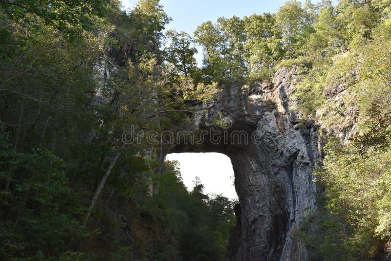 Φυσικό κρατικό πάρκο γεφυρών στη Βιρτζίνια στοκ εικόνα με δικαίωμα ελεύθερης χρήσης