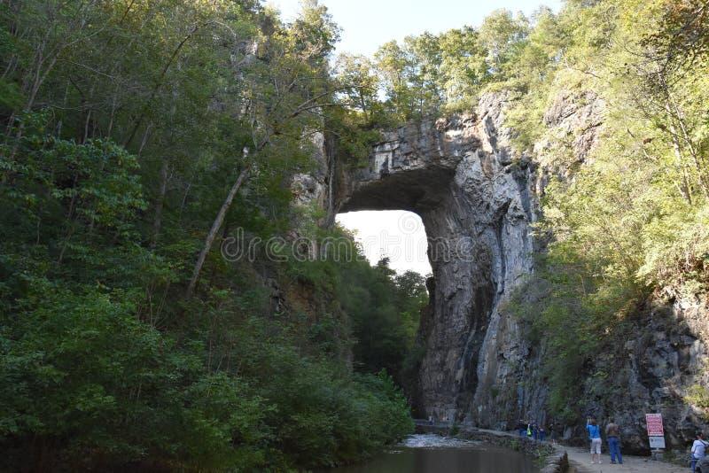 Φυσικό κρατικό πάρκο γεφυρών στη Βιρτζίνια στοκ φωτογραφίες με δικαίωμα ελεύθερης χρήσης