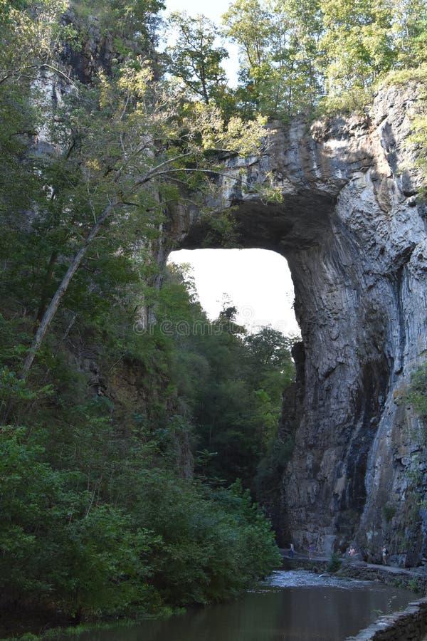 Φυσικό κρατικό πάρκο γεφυρών στη Βιρτζίνια στοκ φωτογραφία με δικαίωμα ελεύθερης χρήσης