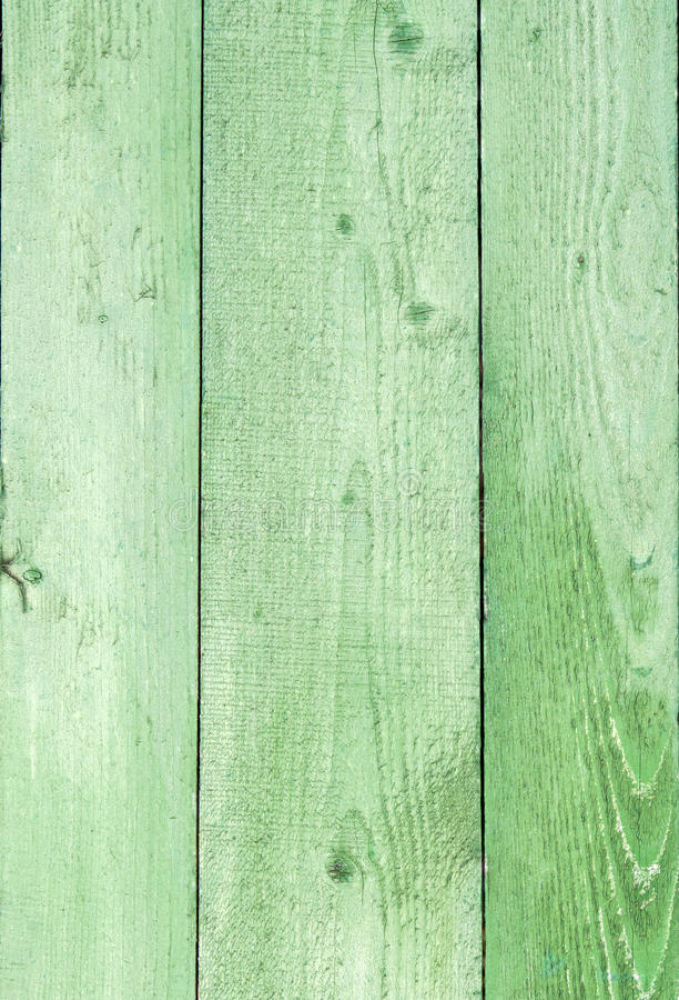 Φυσικό ξεπερασμένο ξύλινο υπόβαθρο σανίδων Παλαιός που χρωματίζεται σε πράσινο στοκ εικόνες