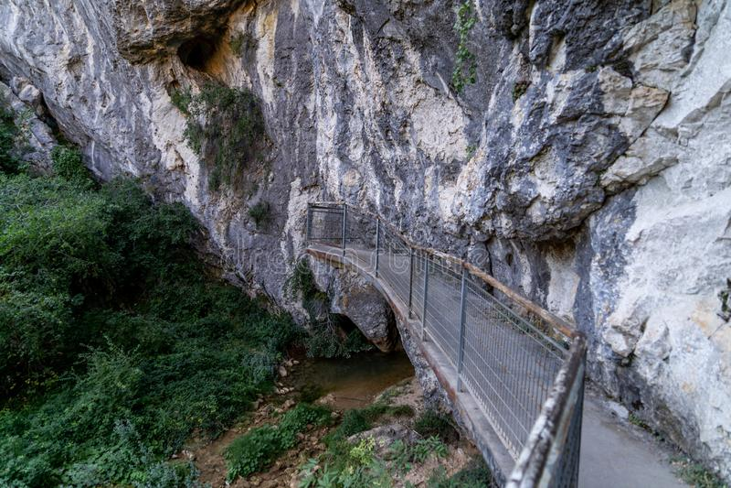 Φυσικό πάρκο του Yecla, στοκ εικόνες