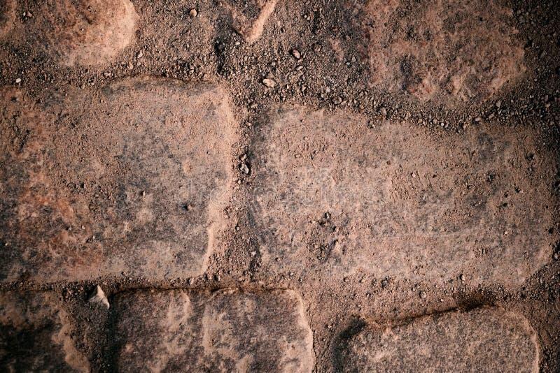 Φυσικό παλαιό υπόβαθρο πετρών - πόλη στην άμμο στοκ φωτογραφίες