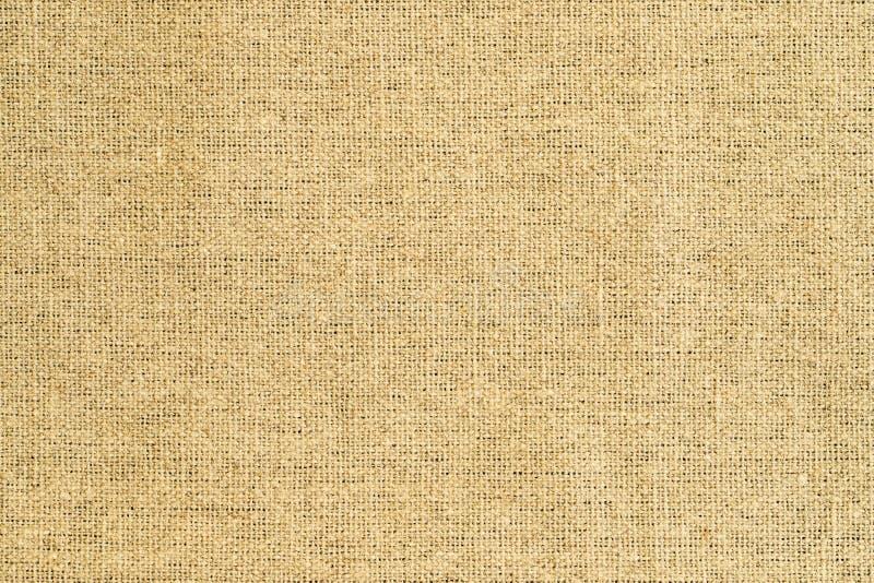 Φυσικό ύφασμα κίτρινο Sackcloth στοκ φωτογραφία
