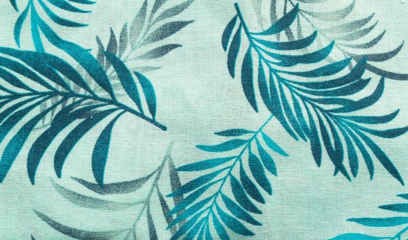Φυσικό ύφασμα λινού με τη floral διακόσμηση αφηρημένη ανασκόπηση κατασκευασμένη στοκ εικόνες με δικαίωμα ελεύθερης χρήσης