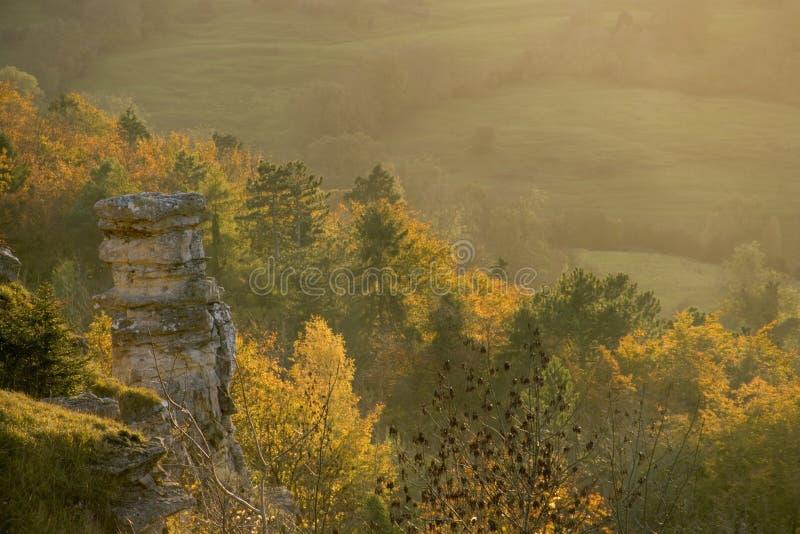 Φυσικό Cotswolds - φθινόπωρο στοκ φωτογραφία με δικαίωμα ελεύθερης χρήσης