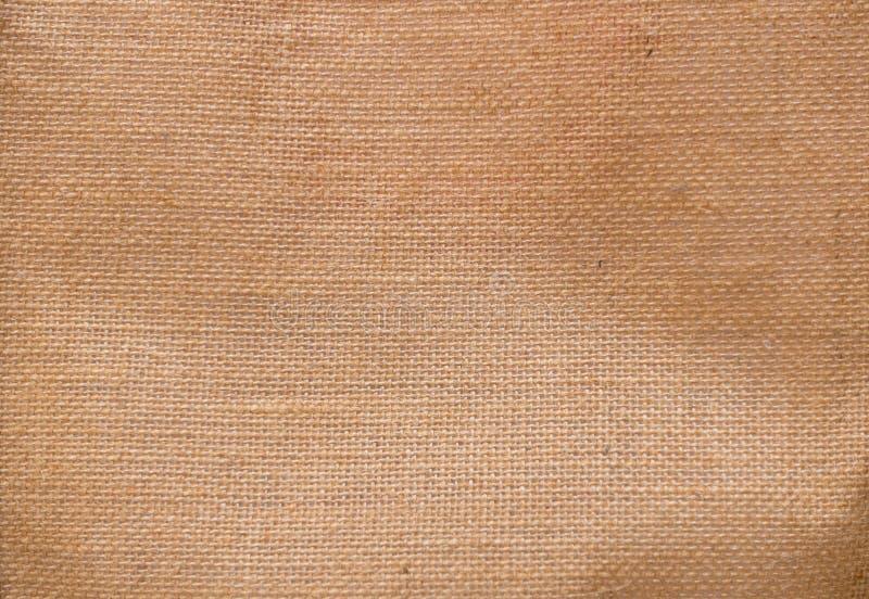 Φυσικό sackcloth υφάσματος υπόβαθρο, αφηρημένη σύσταση στοκ εικόνα