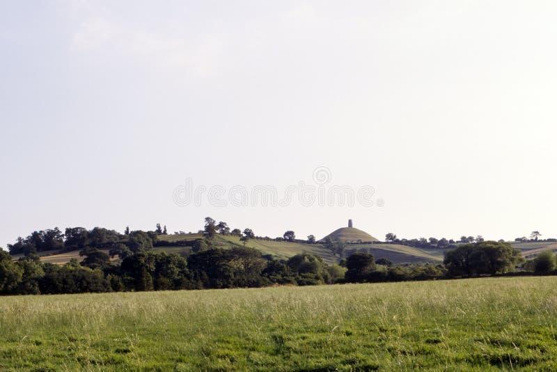 Φυσικό Somerset, σκαπάνη Glastonbury στοκ εικόνα