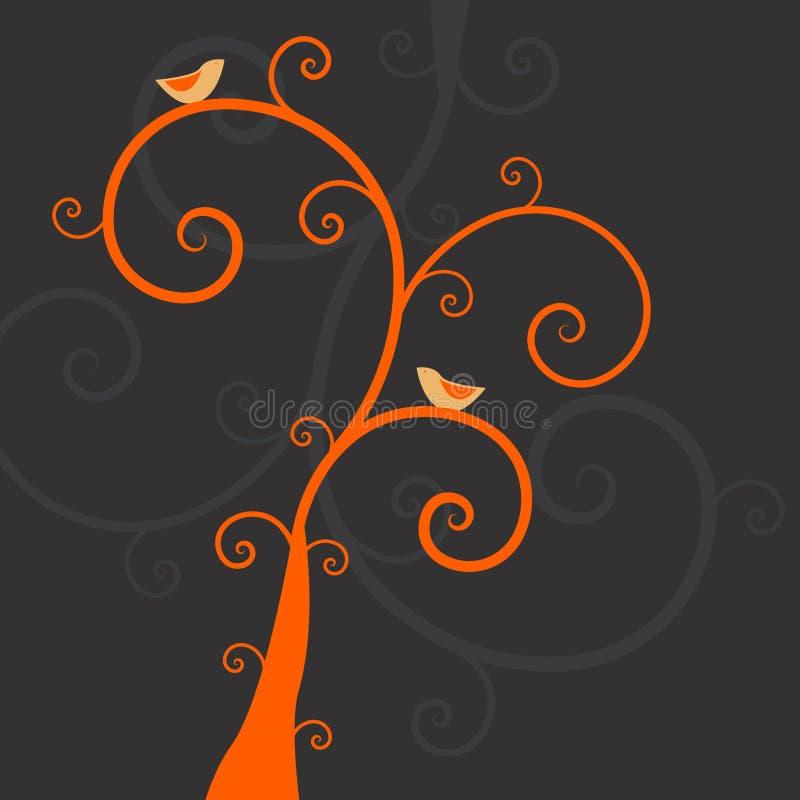φυτά πουλιών απεικόνιση αποθεμάτων