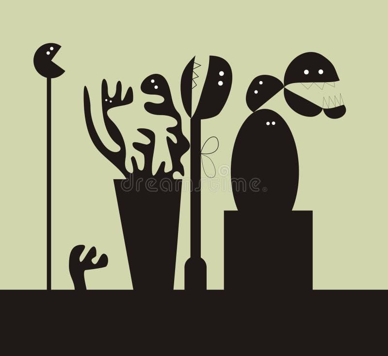 φυτά διανυσματική απεικόνιση
