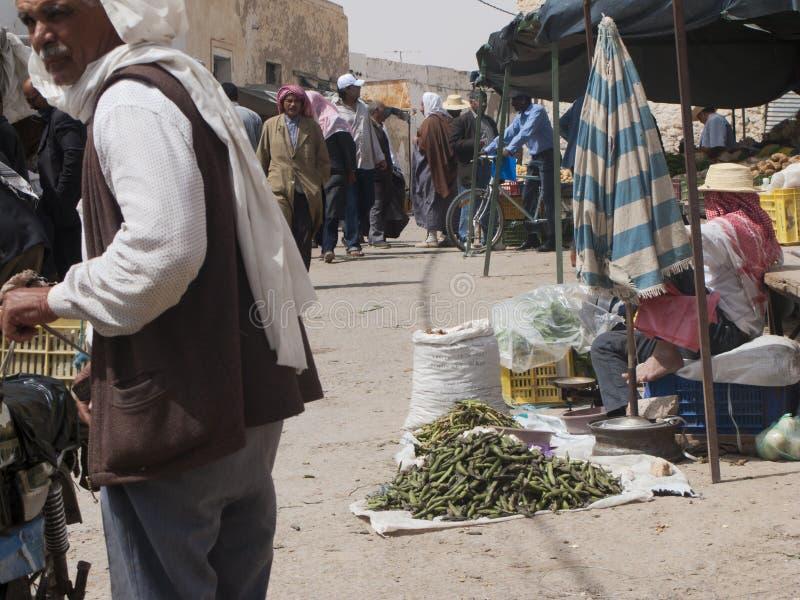 Φυτική αγορά, Τυνησία στοκ εικόνες με δικαίωμα ελεύθερης χρήσης