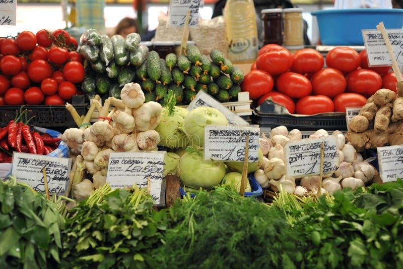 Φυτική ρουμανική αγορά σε Constanta στοκ φωτογραφίες
