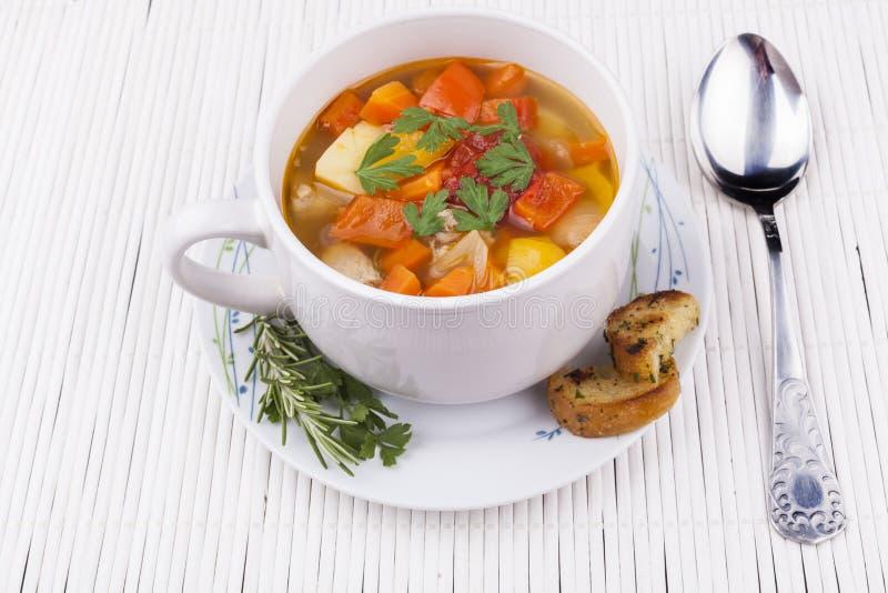 Φυτική σούπα στοκ εικόνες