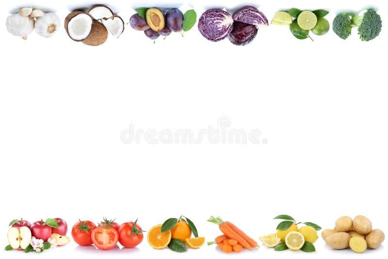 Φυτική σπόλα τροφίμων ντοματών πορτοκαλιών μήλων φρούτων και λαχανικών απεικόνιση αποθεμάτων