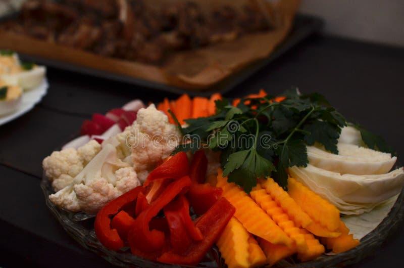 Φυτικό πιάτο στοκ εικόνες με δικαίωμα ελεύθερης χρήσης