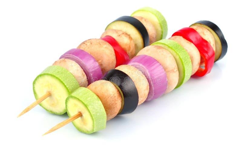 Φυτικό kebab στοκ φωτογραφία