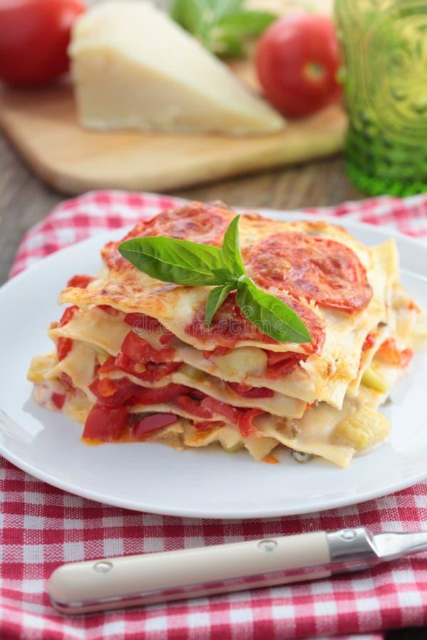 Φυτικό lasagna στοκ εικόνες με δικαίωμα ελεύθερης χρήσης