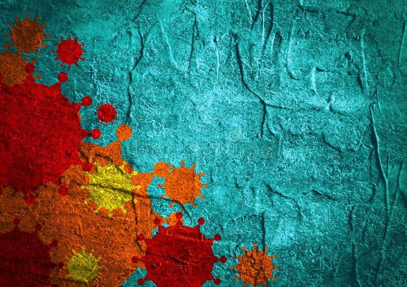 Φυλλάδιο, έκθεση ή υπόβαθρο σχεδίου ιπτάμενων Συγγενής ασθενειών ιών στοκ φωτογραφίες με δικαίωμα ελεύθερης χρήσης