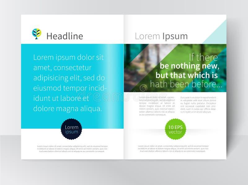 Φυλλάδιο προτύπων, φυλλάδιο, περιοδικό που διαδίδεται απόθεμα-διανυσματικός απεικόνιση αποθεμάτων