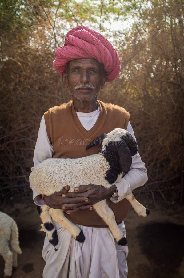 Φυλέτης Rabari στοκ εικόνες
